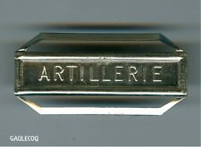 FRANCE MILITARY CIVILIAN FRENCH MEDAL - CLASP -  ARTILLERIE BAR