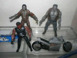 Marvel Legends Monsters - Frankentstein & Zombie & BLADE - Vampire Hunter + bike