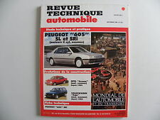 revue technique automobile RTA neuve PEUGEOT 605 SL / SRI mot 4 cyl. ess n°519