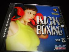 KICK BOXING Vol. 6 CD ähnl. move ya Step Aerobic Workout Fitness Kurse Sport