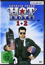 Hot Shots! - Teil 1 + Teil 2 [2 DVDs] | DVD | Zustand gut