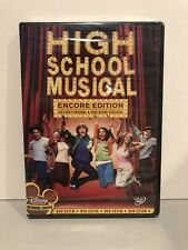 High School Musical (DVD, 2006, Encore Edition) BRAND NEW SEALED!