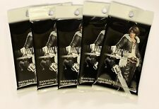 5 x Final Fantasy TCG Opus 2 Booster Packs English Edition New Sealed