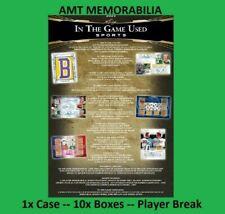 New listing Johan Santana 2020 Leaf In The Game Used 1X CASE 10X BOX BREAK #4
