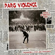 PARIS VIOLENCE Impossible n'est pas français Demos & Rarities 1995 LP black Oi!