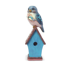 Jim Shore 'Bluebird On Birdhouse' 2019 Mini Collection #6003981 New In Box!