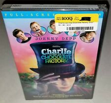 Charlie And The Chocolate Factory (Oop 2005 Factory Sealed Dvd) Thick Case