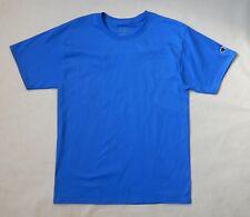 NEW Champion Mens Cotton Royal Blue Short Sleeve Tagless T-shirt Size Medium