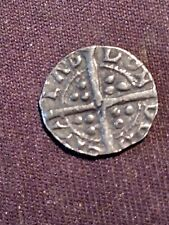 More details for very rare silver hammered coin / year unknown /  1 penny / london mint