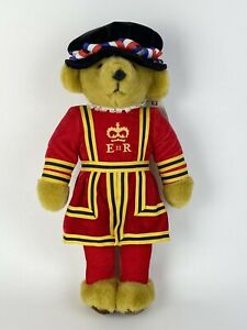 Merrythought Royal Guard Beefeater Bear Handmade In England Pre-owned With Tag