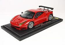 BBR 2013 Ferrari 458 GT2 Rosso Corsa 322 1:18 LE 40pcs P1874*New! RARE FIND NOW!