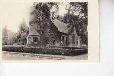 Real Photo Postcard Christian Science Church Manchester NH