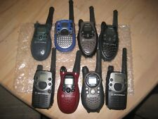 Lot of 9 Motorola Two Way Radios, assorted, used,fully functional - see pictures