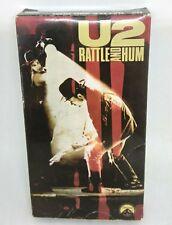 Vintage U2 Rattle and Hum Vhs 1988 Us Tour