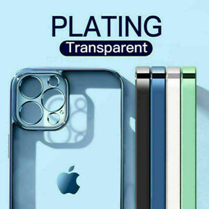 Pating Clear Case For iPhone 13 12 Pro 11 Pro MAX Mini 7 8 PLUS SE XS XR Cover