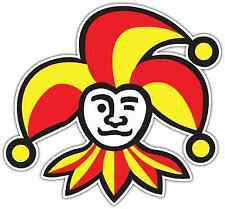 "Jokerit Helsinki KHL Hockey Car Bumper Window Locker Sticker Decal 5""X4"""