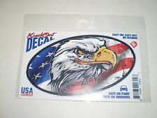 Knock Out Decal   American Flag  Eagle   NIP