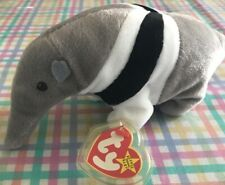 Ty Beanie Baby Ants the Anteater - with Tag and Tag Protector (Retired)