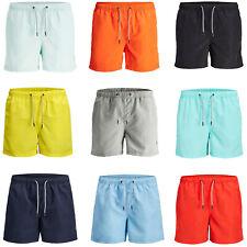 Jack & Jones Swim Shorts Mens Quick Dry Elasticated Drawstring Swimwear Trunks