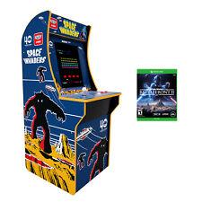 Invaders Space Arcade Game Arcade1up Machine + Star Wars Battlefront 2 Xbox One