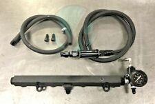 K Swap Center Feed 6AN Wrinkle Black Fuel System EG EK DC2 K Tuned Fuel Filter