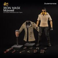 Vortex Toys IRON MASK Max Well w/ two Head Sculpts 1/12 Action Figure