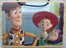 TOY STORY WOODEN WALL PLAQUE; WOODY, JESSIE, AND BUZZ LIGHTYEAR