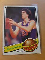 1979/80 Topps #52 ALVAN ADAMS Phoenix Suns Basketball Card, Center, Forward.