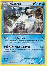 4X Pokemon Furious Fists Beartic 22/111 Rare Card