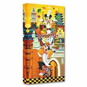 A World of Flavor 20x10 Disney Fine Art Treasures on Canvas by Tim Rogerson