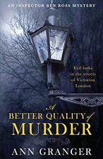 A Better Quality of Murder (Lizzie Martin 3) by Ann Granger | Paperback Book | 9
