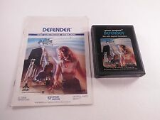 Defender Atari 2600 1982 Video Game Cartridge Manual Tested