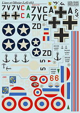 Print Scale 72-221 Decal for Liore et Olivier LeO 451 1:72