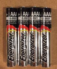 4 AAAA E96 Alkaline Batteries BULK Replaces E96, LR8D425, MN2500, MX2500