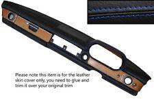 Punto azul Dash Dashboard Leather Skin Tapa se ajusta Mercedes W114 W115