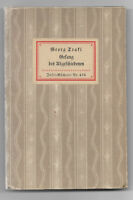 Georg Trakl: Gesang des Abgeschiedenen Erstausgabe Insel-Bücherei Nr.436 1933