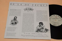 CALICANTO LP DE LA DE L'ACQUA ITALY PROG FOLK 1°ST ORIG GATEFOLD+INSERTO EX
