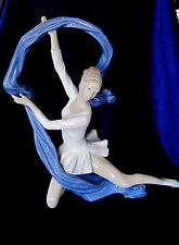 NAO BY LLADRO #1699 DANCER WITH VEIL BNIB SPEICAL EDITION COLOR SPASH LADY SAVE$