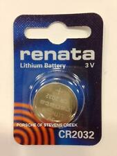 Porsche Key Remote Battery CR2032 Cayenne 911 Carrera Boxster Cayman Panamera