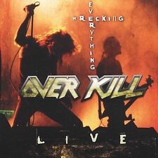 Wrecking Everything -- Live by Overkill (CD, Jun-2002, Spitfire Records (USA))