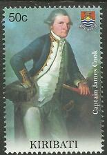 KIRIBATI 2009 SEAFARING CAPTAIN JAMES COOK Single Stamp MNH
