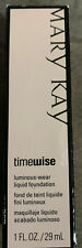 Mary Kay TimeWise Ivory 6 Luminous Wear Foundation Normal To Dry Skin