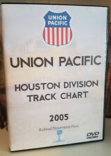 Union Pacific Houston Division Track Chart 2005 DVD