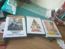 STANLEY KUBRICK JOBLOT X 3 FRENCH DVD CLOCKWORK SPACE ODYSSEY EYES WIDE BN