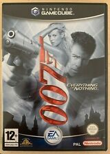 Nintendo Gamecube Everything Or Nothing 007 James Bond Game Complete Boxed PAL