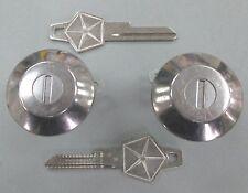 NOS Mopar Door Cylinders 1959-1965 Chrysler Plymouth Dodge NEW w/2 Keys