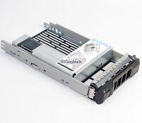 """Dell 3.5"""" TRAY CADDY KG1CH + 9W8C4 2.5"""" adapter PowerEdge R530 R730 R730XD T630"""