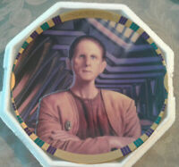Security Chief Odo Star Trek Deep Space 9 Collector Plate #3457A by Hamilton