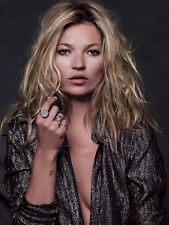 KATE MOSS POSTER  A4 260GSM