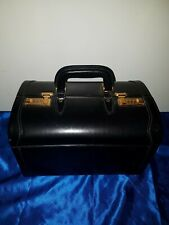 "Asprey Koffer Vintage Asprey  Leather Travel Suitcase 18"" Made In Italy"